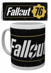 Zwarte Hole in the Wall Fallout 76 - Logo Mug