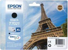Epson T7021 inkt cartridge zwart hoge capaciteit (origineel)