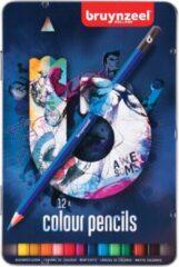 Koninklijke Talens B.V Bruynzeel - Teens kleurpotloden - 12 stuks in blik