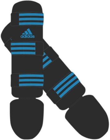 Afbeelding van Adidas scheenbeschermers Good unisex zwart/blauw maat XL