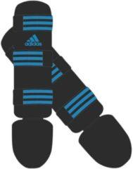 Adidas scheenbeschermers Good unisex zwart/blauw maat XS