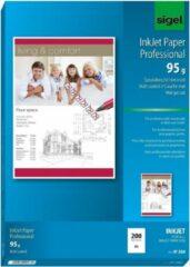 Witte Sigel IP288 papier voor inkjetprinter
