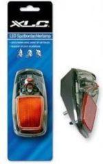 Zwarte XLC achterlicht TL-365 batterij spatbord