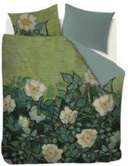 Groene Beddinghouse x Van Gogh Museum Beddinghouse x Van Gogh Wild Roses Dekbedovertrek 200 x 200/220 cm