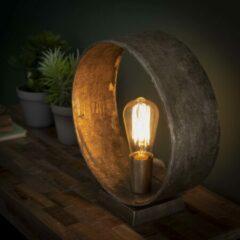 Grijze Easy Furn Tafellamp Murci
