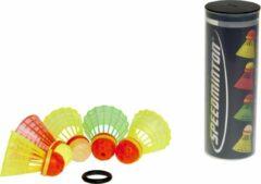 Speedminton Speedertube Mixset - 5 stuks - crossminton - speedbadminton