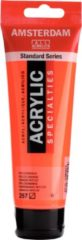 Royal Talens Amsterdam Standard acrylverf tube 120ml - 257 - Reflexoranje - halftransparant