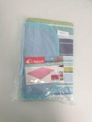 Merkloos / Sans marque Beach mat. 145 x 180 blauw groen
