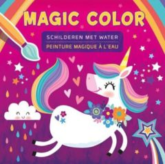 Centrale Uitgeverij Deltas Unicorn magic color schilderen met water / unicorn peinture magique à l'eau