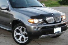 Universeel Motorkapsteenslaghoes BMW X5 2000-2006 zwart