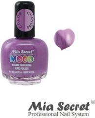 Paarse Mia Secret Mood Nagellak Violet Lilac