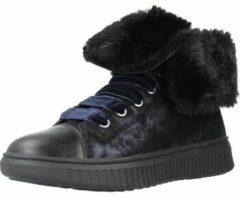 Zwarte Hoge Sneakers Geox J DISCOMIX GIRL