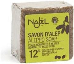 Najel Aleppo regular zeep 12% BLA 200 gram