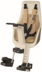 Taupe Bobike Exclusive Mini Plus Fietsstoeltje - Stuurbevestiging - Safari Chic