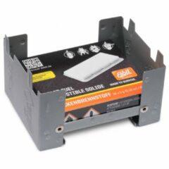 Zwarte Esbit Kleine Inklapbare Brander + Solid Fuel 16x5 Gram