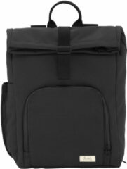 Dusq Vegan Bag Canvas night black backpack