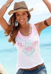 S.Oliver RED LABEL Beachwear Top mit Frontprint
