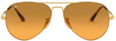 Gouden Ray-Ban® Ray-Ban RB3689-9150AC-58
