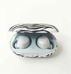 DW4Trading® Samsung galaxy hardcase hoesje voor earbuds+ zebra