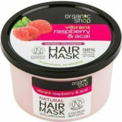 Organic Shop - Hair Mask maska nadająca objętość włosów Malina & Acai 250ml