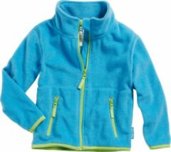 Playshoes - Kid's Fleece-Jacke - Fleecevest maat 116, turkoois/blauw