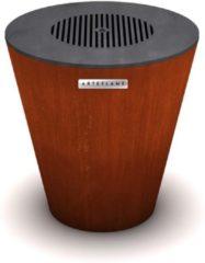 Arteflame One 20 Houtskool Barbecue - 51,5x51,5x51 cm - 39 kg - Bakplaat Ø 50,8 cm