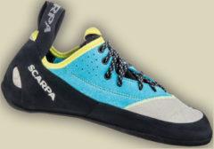 Scarpa Schuhe Velocity L Women Kletterschuhe Damen Größe 39 lightgray-turquoise