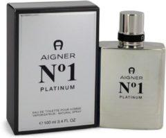 Aigner Etienne Etienne Aigner No. 1 Platinum For Man Eau De Toilette 100Ml