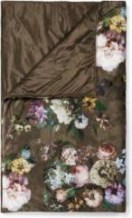 Bruine Essenza Fleur Sprei 180 x 265 cm