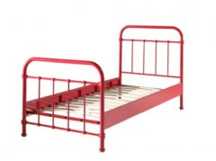 Rode Beddenreus bed New York (90x200 cm)