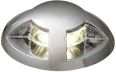 LED-inbouwlamp 2.16 W 230 V Warm-wit Konstsmide 7659-000 RVS Set van 6