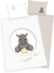 Baby Best Fynn - Dekbedovertrek - Ledikant - 100x135 cm + 1 kussensloop 40x60 cm - Wit