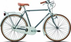 28 Zoll Legnano Vintage Herren Holland Fahrrad... 50cm, dunkelgrau-weiß