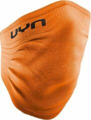 Marineblauwe UYN Community Winter Mask Uitwasbaar Mondmasker - Oranje