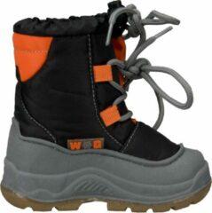 Winter-grip Wintergrip Basic Snowboot - Snowboots - Unisex - Maat 24 - Zwart/Grijs/Oranje
