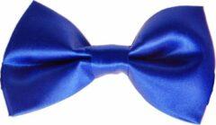 S.Y.W Vlinderstrik voor kinderen glimmend koningsblauw
