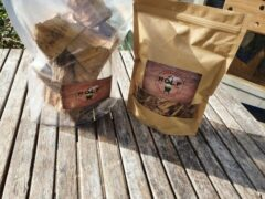 Rolfrookhout.nl Assortiment whisky rookhout chunks / rookmot
