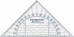 Geodriehoek Staedtler 568 160mm transparant