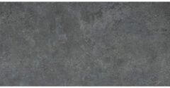Antraciet-grijze Cifre Ceramica Cifre Cerámica Vloer- en wandtegel Materia Antracite 30x60 cm Gerectificeerd Betonlook Mat Antraciet SW07310553
