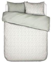 Groene Covers En Co Covers & Co Absolutely Dot Dekbedovertrek - 2-persoons (200x200/220 Cm + 2 Slopen) - Percal Katoen - Mint