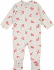 Rode Sanetta baby onesie Strawberry maat 86