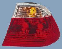 AutoStyle Set Achterlichten passend voor BMW 3 Serie E46 Sedan 1998-2001 - Rood/Helder