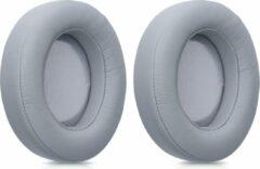 Kwmobile 2x oorkussens voor Razer Kraken 7.1 V2 koptelefoons - imitatieleer - voor over-ear-koptelefoon - grijs