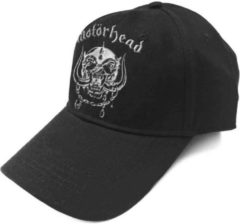 Rock Off Motorhead Baseball pet Warpig Sonic Silver Zwart