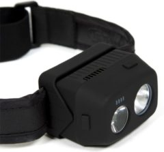 Zwarte Ridgemonkey VRH300 USB Rechargeable Headtorch - Hoofdlamp