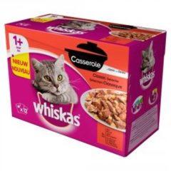 Whiskas Casserole Adult Classic Mix&Gelei - Kattenvoer - 12x85 g - Kattenvoer