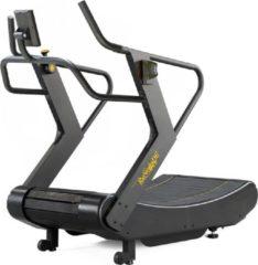 Grijze Evo Cardio Evocardio Renegade ARUN100 Air Runner Pro Motorloze Curved Loopband - Zelfaangedreven, geen stroom nodig - Uitstekende Garantie