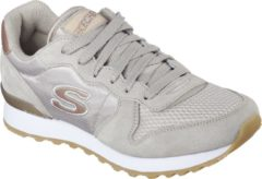 Skechers Retros-Og 85-Goldn Gurl Sneakers Dames - Taupe - Maat 38