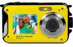 GoXtreme Reef Yellow Digitale camera 24 Mpix Geel Full-HD video-opname, Waterdicht tot 3 m, Onderwatercamera, Schokbestendig, Met ingebouwde flitser