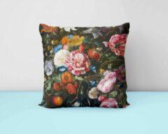 ByCristianne Kussenhoes - Boeket bloemen - 50 x 50 cm - Woon accessoire
